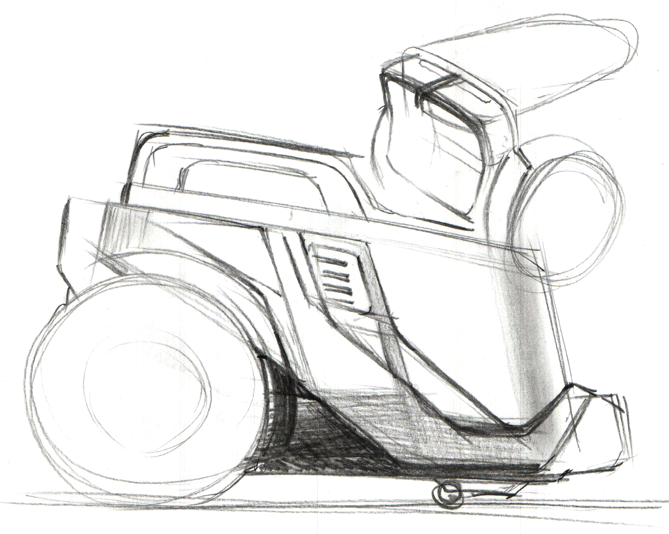 Arzum Olimpia Cyclone Vacuum Cleaner Design Sketches