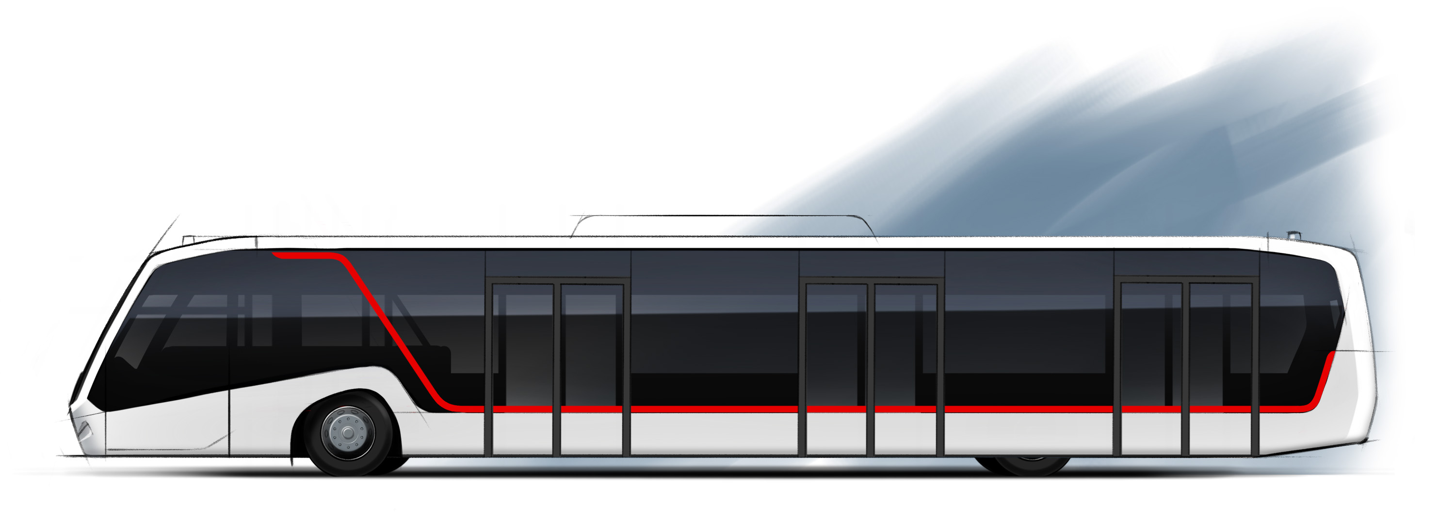 BMC Neoport Apron Bus Sketch