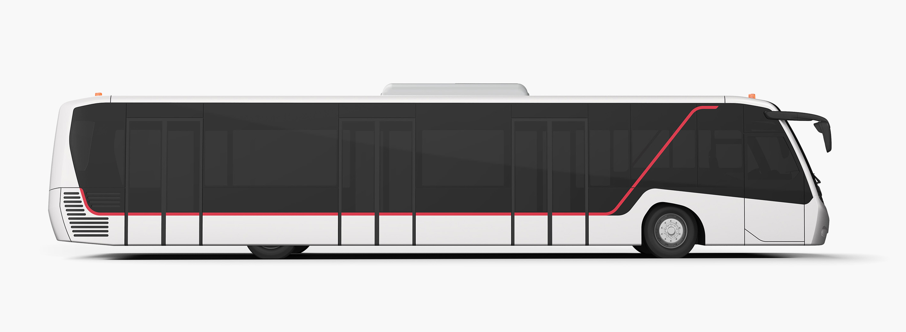 BMC Neoport Apron Bus Design Rendering