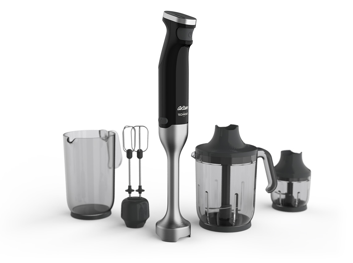 Arzum Technocast Blender Design Rendering
