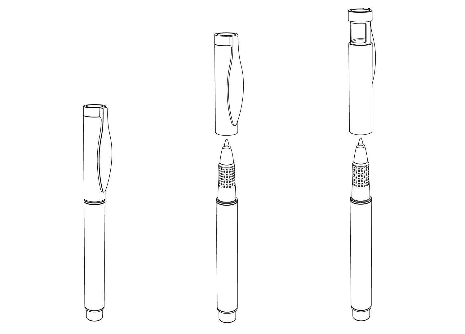 Steppen Biopen Biodegradable Pen Design